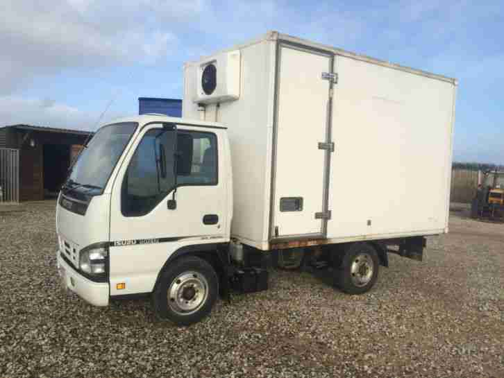 ISUZU NQR 57 REG FRIDGE LORRY EURO 5