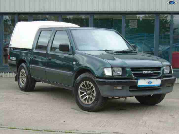 ISUZU RODEO 2.5TD DCB 4x2 Green Manual Diesel, 2002