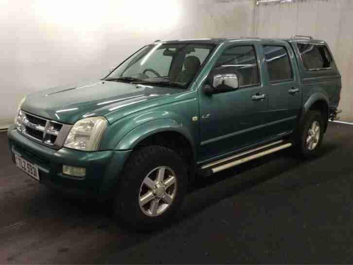 ISUZU RODEO 3.0 TDC i 136 BHP 4WD DENVER MAX DCB PICK UP NO VAT 2007