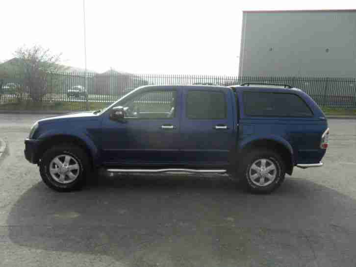 RODEO 4X4 DIESEL MANUAL 4 DOOR LEATHER