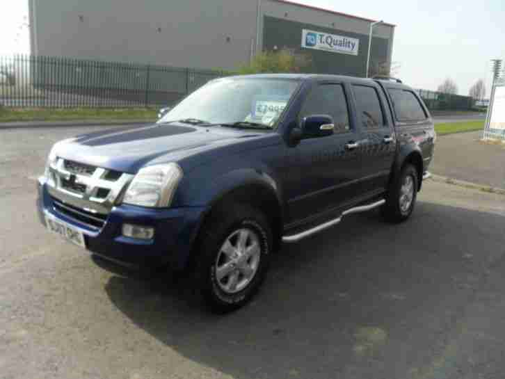 ISUZU RODEO 4X4 DIESEL MANUAL 4 DOOR LEATHER SNUG TOP 85000 MILES