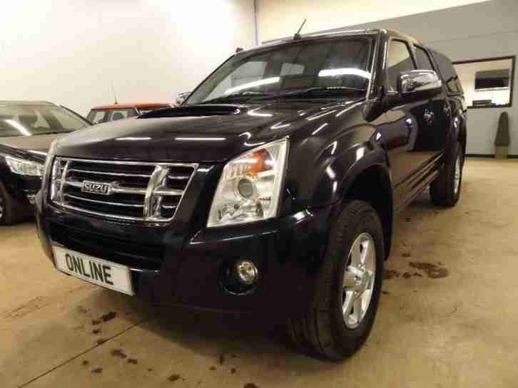 ISUZU RODEO RODEO DENVER TD LWB D C , Black, Manual, Diesel, 2010