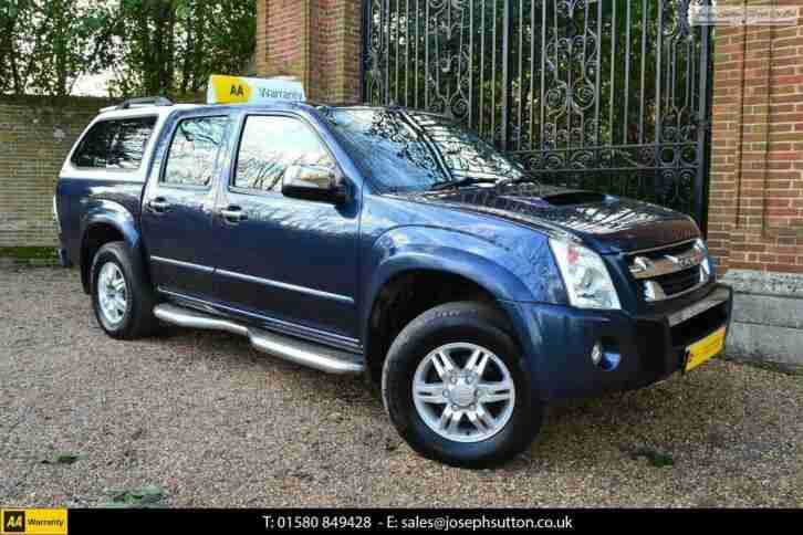 ISUZU RODEO TDI-C 136 4WD Denver Max 2010 Diesel Manual in Blue