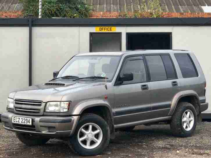 TROOPER 3.0 TD 4X4 5 DOOR + TOW BAR +