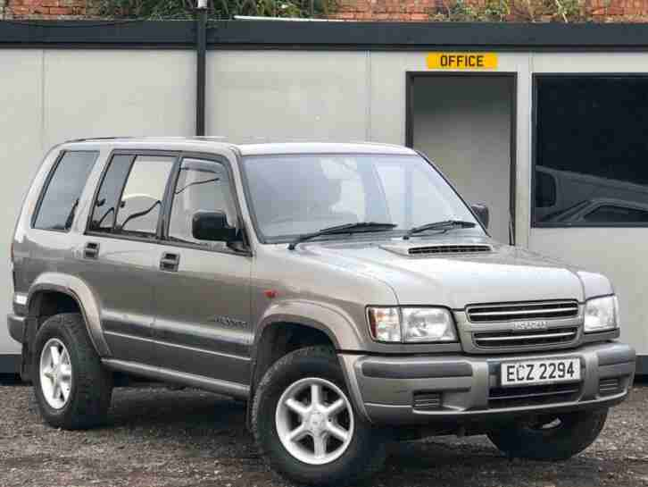 ISUZU TROOPER 3.0 TD 4X4 5 DOOR + TOW BAR + ALLOYS + LONG MOT