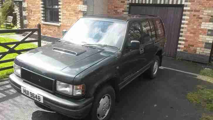 ISUZU TROOPER 3.1 Turbo D; 1994; 8 MONTHS MoT; 170,000 miles