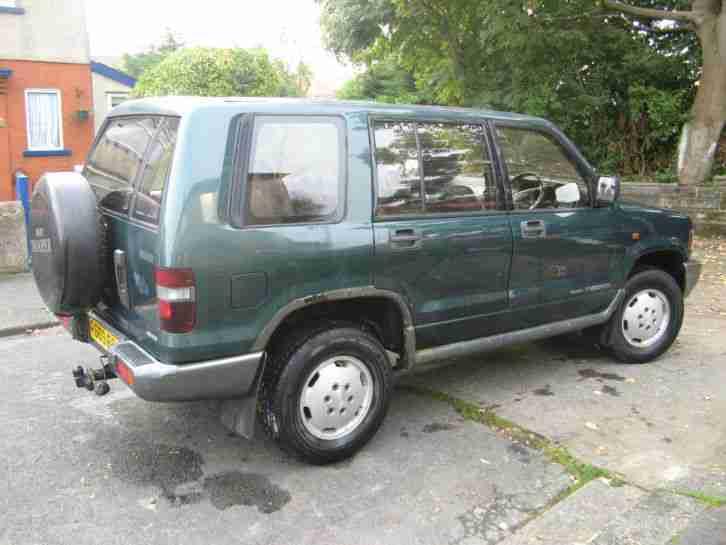 isuzu trooper 3 1td lwb turbo d green 1998 car for sale. Black Bedroom Furniture Sets. Home Design Ideas