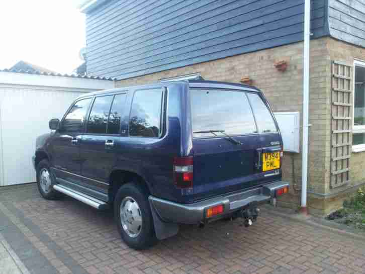 ISUZU TROOPER CITATION 3.2 LWB **£1200*** shogun 4x4 off road patrol etc