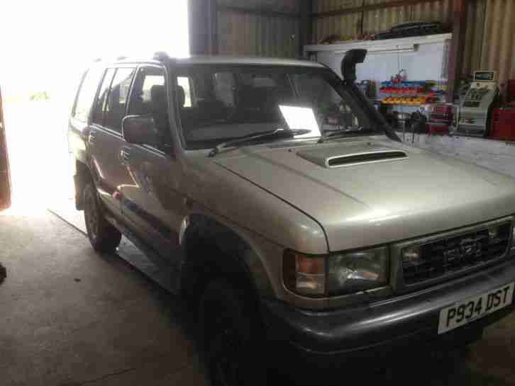 ISUZU TROOPER CITATION. 3.I TURBO DIESEL 1996. IDEAL EXPORT OR UK USE IN VGC