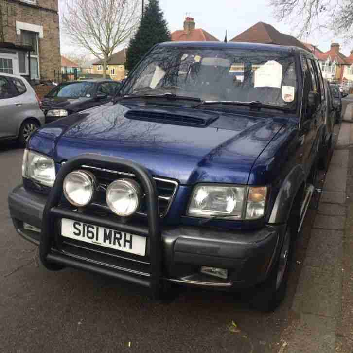 ISUZU TROOPER CITATION LWB 7 SEATER 3.0