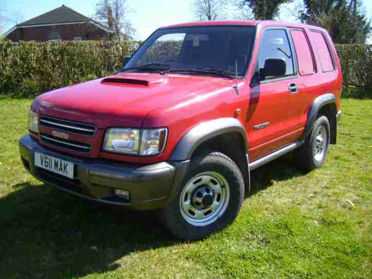 Isuzu TROOPER COMMERCIAL Car From United Kingdom