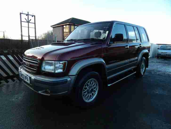 ISUZU TROOPER LWB CITATION 2002 LOW MILEAGE