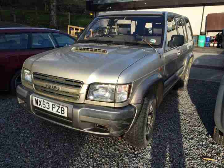 TROOPER LWB SPARES OR REPAIR