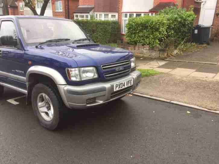 ISUZU TROOPER SWB 3.1 ENGINE CON 04 REG CHEAPEST ON EBAY 112 thou engine reduced