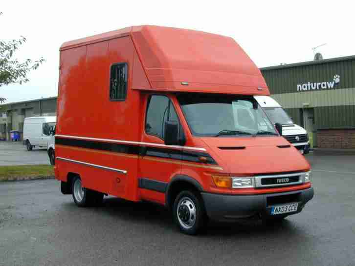 IVECO 35C12 3.5t OAKLAND GEORGE SMITH COACH BUILT HORSEBOX BEST VALUE!
