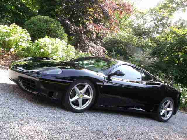Ferrari Immaculate 360. Ferrari car from United Kingdom