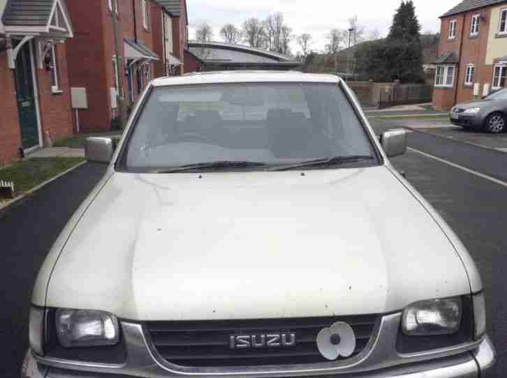 Isuzu 2.8 diesel pick up
