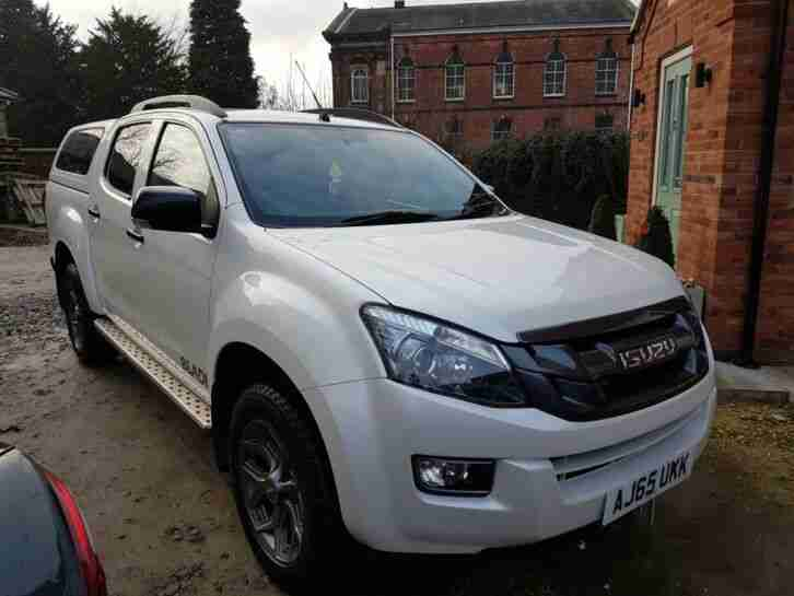 Isuzu D Max Blade 2015 '65' NO VAT Low Miles white 2.5TD Manual Mint condition.