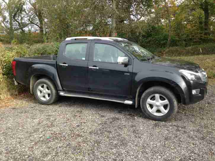 Isuzu D-Max Rodeo Utah 2012 2.5 twin turbo only 24k 1owner 5yr warranty 4x4 +VAT