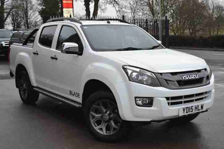 Isuzu D Max. Isuzu car from United Kingdom