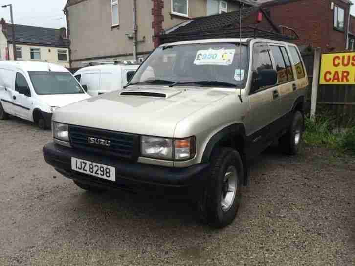 Isuzu Trooper 12 months MOT - Van 3.1TD Duty Station Wagon 5d 3059cc