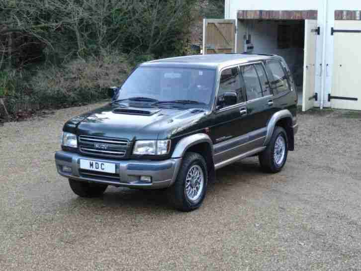 Isuzu Trooper 3.0 Diesel LWB Full Service History 7 Seater Air Conditioning 4WD