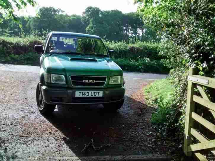 Isuzu Trooper 3.0 Duty, Turbo Deisel, Manual, 142000 miles, 11 months MOT