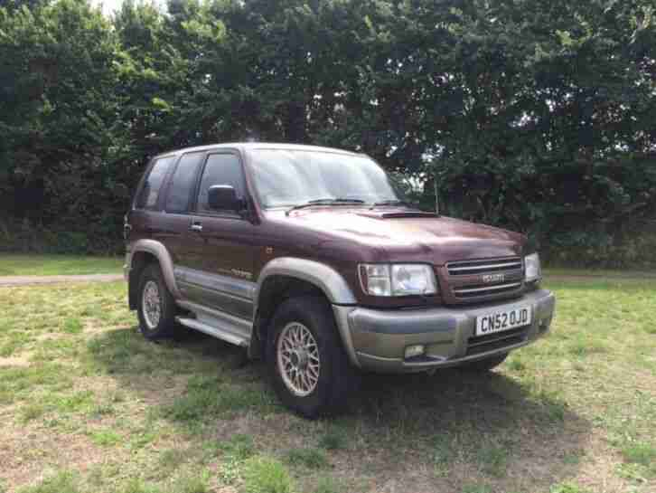 Isuzu Trooper 3.0 TD 3 door. 2002. 123,000 miles.