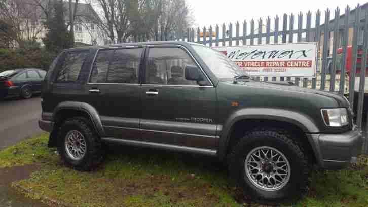 Isuzu Trooper 3.0TD lwb 7 seats 2001 51 model