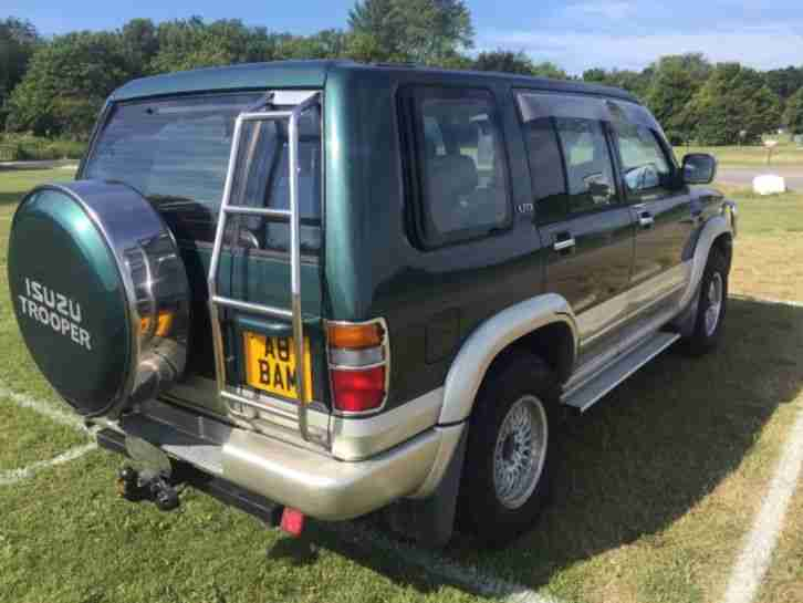 Isuzu Trooper 3.1 Turbo Diesel LTD 1997 62,000 miles