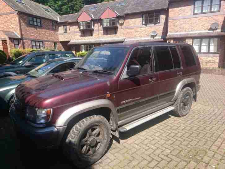 Isuzu Trooper 30. Isuzu car from United Kingdom
