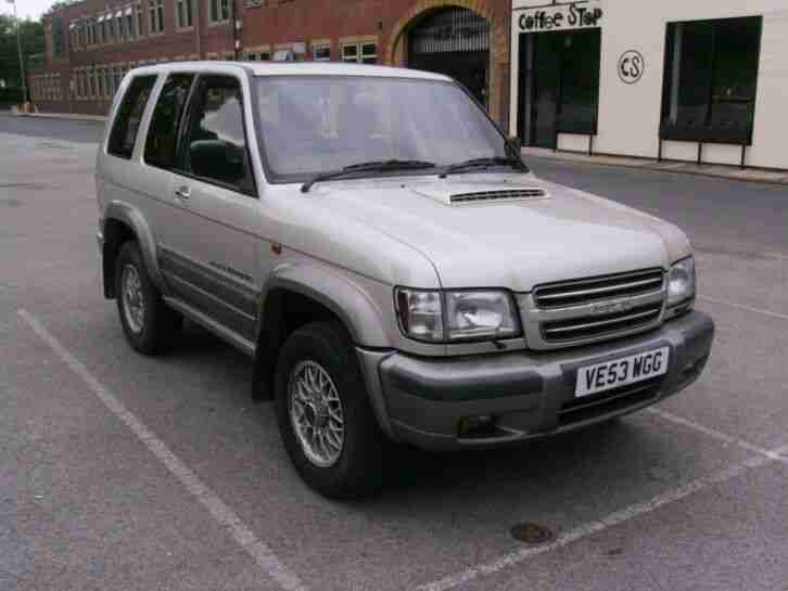 Isuzu Trooper Citation 3 door 117000 miles