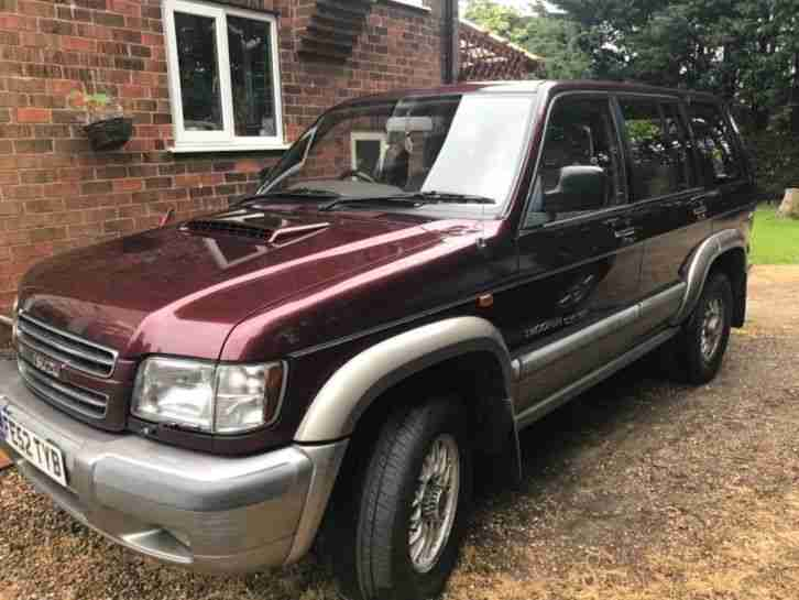Isuzu Trooper Citation LWB 3 lt 7 Seater. 2002 Spare/Repair
