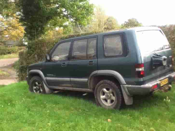 Isuzu TROOPER 3 0 with 3 1 engine conversion  car for sale