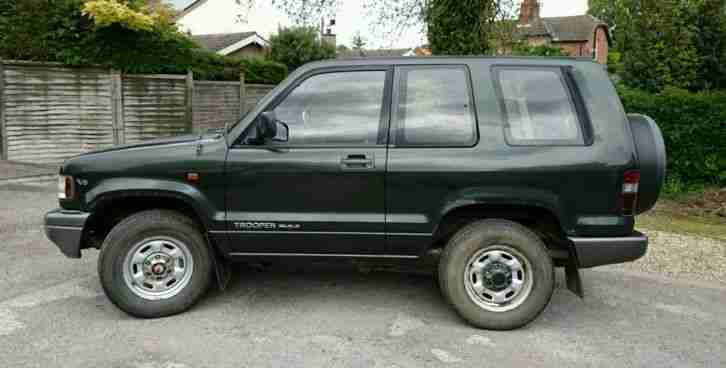 Isuzu Trooper Duty V6 3.2 Petrol Manual Aprrox 50k miles 1 previous owner 4x4