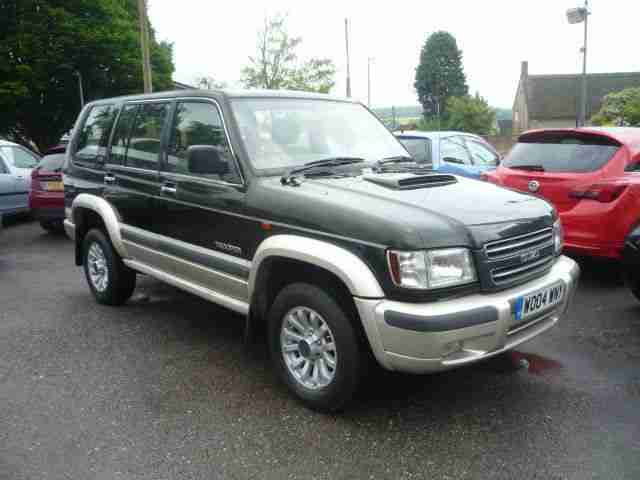Isuzu Trooper LS. Isuzu car from United Kingdom