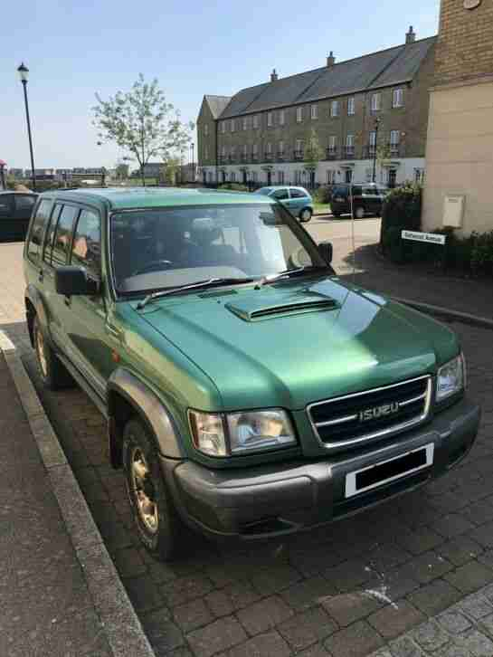 Isuzu Trooper LWB 1998. Fully rebuilt engine by Isuzu PRICE REDUCED