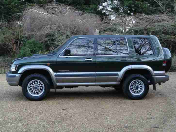 Isuzu Trooper LWB 3.0 Diesel Citation Superb Full History £2200 Just Spent
