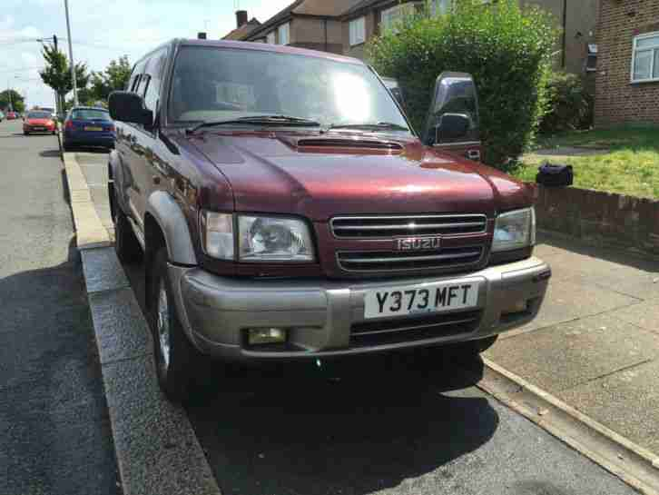 Isuzu Trooper LWB 3.0 Diesel Manual. Very good condition