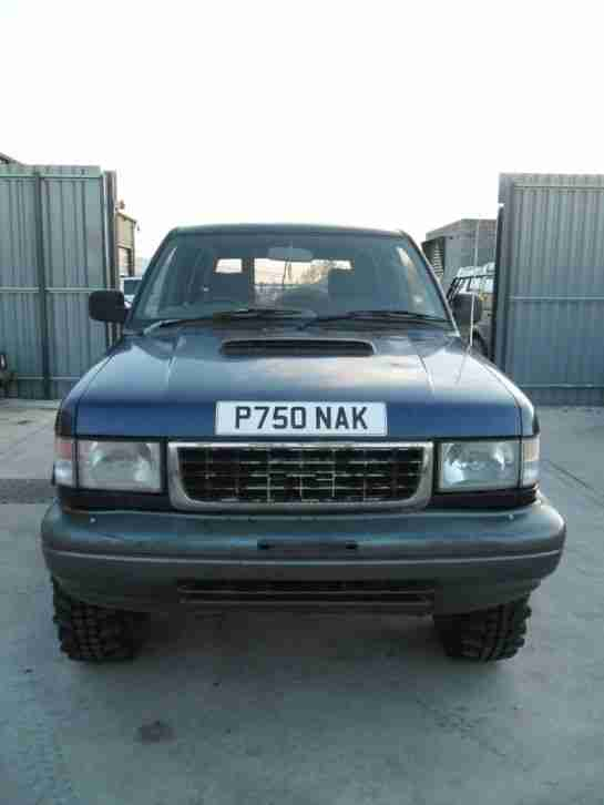 "Isuzu Trooper SWB 3.1 TD 2"" Lift Insa Turbo's Modular Wheels 4x4 Off Road MOT"