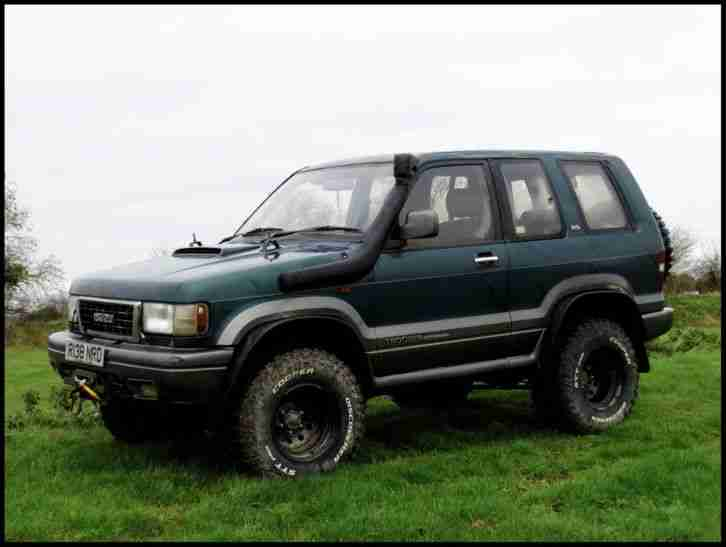 Isuzu Trooper Swb 3 1 Offroad 4x4 Not Land Rover Suzuki