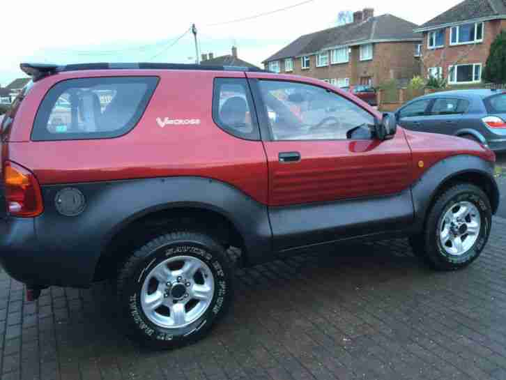 Isuzu Vehicross 3.2 V6 SWB, 46,000 miles, Metallic Red, Recaro Leather 4x4 SUV
