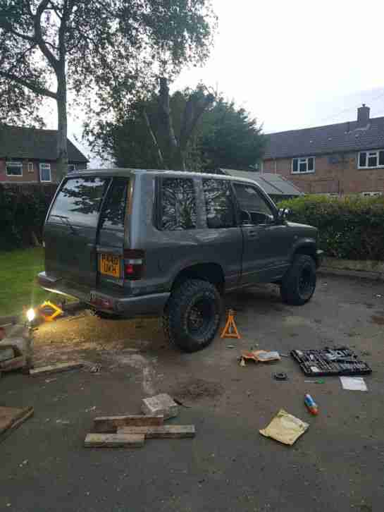 Isuzu trooper 3.1 off-road ready