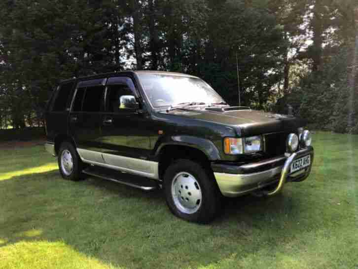 Isuzu trooper 3.1 turbo Lotus Edition