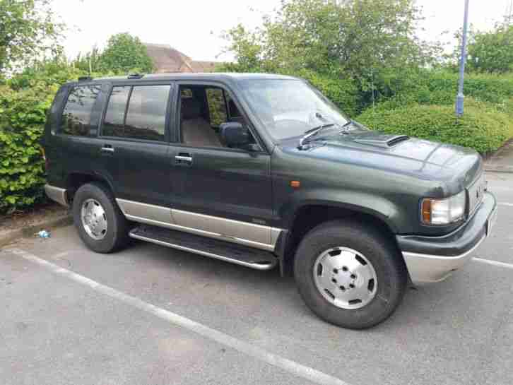 Isuzu Trooper bighorn..3.1. Isuzu car from United Kingdom