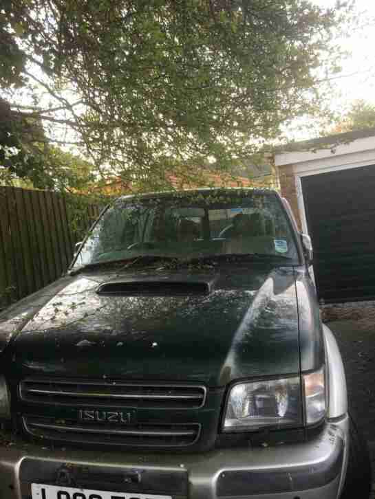 Isuzu trooper diesel. Spares or repairs