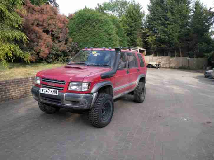 Isuzu trooper off roader 3.1 turdo diesel