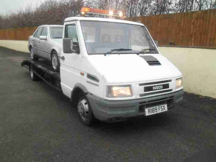 Iveco DAILY 35.8 SWB recovery , car transporter 2.8 turbo diesel conversion
