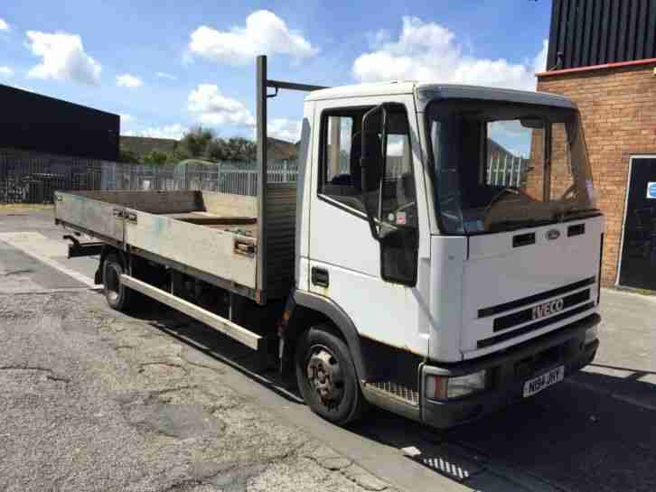 Iveco NEW CARGO 7.5Ton truck flat bed drop side Diesel Recovery
