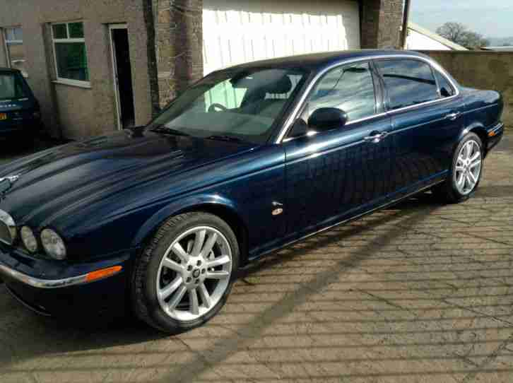 Jaguar XJ6. Jaguar car from United Kingdom